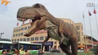 大恐龙来淮北濉溪大市场了霸王龙第一次吼叫震惊202省道 TT工作室