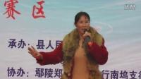 """鄢陵县南坞镇""""戏迷擂台赛""""安头村扬香花演唱的豫剧《包青天》选段(12)"""