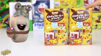 白白侠玩具秀:日本食玩 皮卡丘精灵球之家