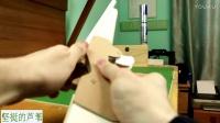 用纸做把能打纸弹的皮筋玩具来福枪。安全,有创意,可亲子,家庭对战玩。