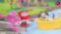 『奇趣箱』超级飞侠玩具视频:超级飞侠乐迪小爱和小猪佩奇送米妮的小狗回米奇妙妙屋
