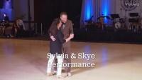 摇摆舞 Lindyfest 2017 -  Sylvia & Skye Performance