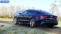 全新2018款 奥迪Audi RS7 4.0 TFSI  外观内饰 加速声浪