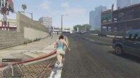 外国友人太有爱!GTA线上模式调戏老外被当地警察追了十条街!