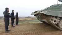 俄罗斯T-72主战坦克训练