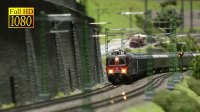 中国火车模型沙盘视频