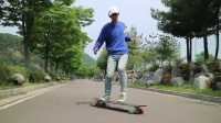 【长板教学】Doyoung教学7- 360 step - How To Longboard, 360 step 7