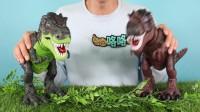 恐龙王国来了新朋友小猪佩奇