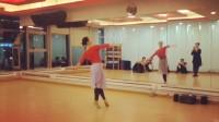 刘佳舞蹈背面《蓝色的蒙古高原》