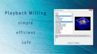 hyperMILL strategies_Playback_Milling