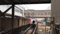 比利《上海地铁3号线》01 AC-03黄鱼317号车上海火车站上行进站
