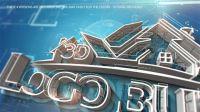 建筑LOGO挤压标志AE模板 3D Logo Build