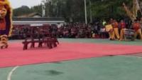 广东从化邱(丘)氏宗亲醒狮队 比赛