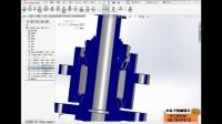 SolidWorks基础设计教程:第四课(用SolidWorks制做中心轴)
