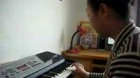 轮椅女孩;何泽;电子琴练习弹奏歌曲;《北国之春》