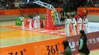 09大学生篮球超级联赛跆拳道表演