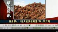 上周美国大豆出口检验量7378.7万蒲式耳
