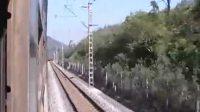火车上拍的