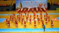 开场鼓。盛世欢歌。西安市第三届老年人体育健身大会开幕式