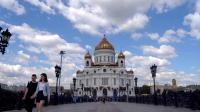 【救世主大教堂与莫斯科河】(俄罗斯之旅 五)