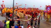 武汉市第二十五届迎春舞龙大赛 江岸区丹水池街道梅花龙艺术团荣获金奖