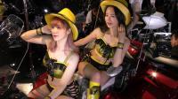 【摩托车】2020 4K展会现场 顶级摩托车模助阵