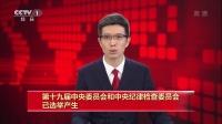 第十九届中央委员会和中央纪律检查委员会已选举产生 171024