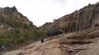 帕杰罗苏州天池山大石壁爬坡挑战