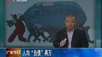 """广州地方政府性债务为2414亿 人均""""负债""""两万"""