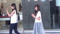 日女团℃-ute抵港显亲民 手机反拍粉丝 160520