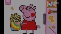 粉红猪小妹 小猪佩奇的绘画盒子 游戏解说 画小猪佩奇