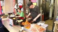 首尔城市观光巴士特辑--逛通仁市场吃传统美食!《小熊韩你玩52》 韩国旅游攻略