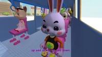 《火火兔学前英语》大班第5课I am a bus