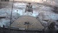 逆天神技 直升机飞行员暴雨骇浪中降落军舰 161127