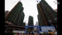 【拍客】武汉悲剧9.13武汉工地电梯从30层坠落
