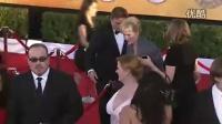 第18届美国演员工会奖红毯 梅丽尔·斯特里普挥手显大气