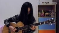 何璟昕  吉他弹唱《梦一场》