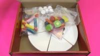 孩子们的玩具草莓奶油巧克力蛋糕玩具切割粘磁蛋糕生日蛋糕木制玩具