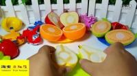 白雪公主与超级飞侠开派对 水果切切乐做水果沙拉
