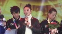 张雨绮卖萌与电竞高手合影 自曝新片《妖猫转》月底全部杀青 161221