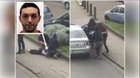 比利时恐袭:拘捕怀疑白衣男片段曝光