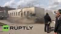 乌克兰:速度与激情,看超绚坦克驾驶秀技巧