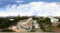最美深圳大学校园360°全景视频航拍