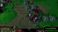 魔兽:800血剑圣直接被亡灵三英雄秒杀 xiaoy解说