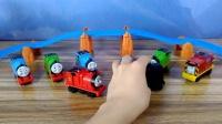 托马斯和他的朋友们:迎接新朋友 托马斯小火车 玩具开箱 电动玩具 费雪 火车轨道