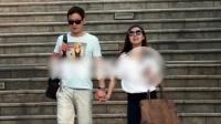 """""""皇阿玛""""新恋情曝光 邱心志与新女友逛街 150907"""