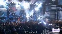 "AMA全美音乐奖:Khalid&Imagine Dragons ""YOUNG DUMB & BROKE""/""THUNDER"""