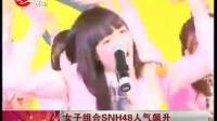 女子组合SNH48人气飙升