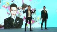 黄晓明表白baby与胜利飙舞技 胜利首参加中国综艺中文惊呆媒体 160603