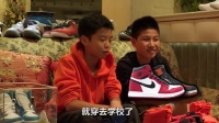 我们采访了刷爆朋友圈的超级小学生鞋迷